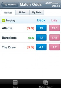 Betfair Client for iPhone screenshot 002 208x300 Gambling App Store