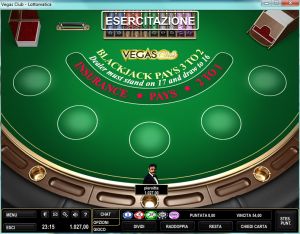 blackjack partita vegas 300x234 Vegas Club di Lottomatica   Review