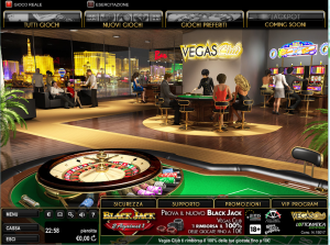 vagas club 300x223 Vegas Club di Lottomatica   Review