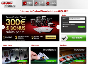 CasinoPlanet 300x223 Casino Planet   Review